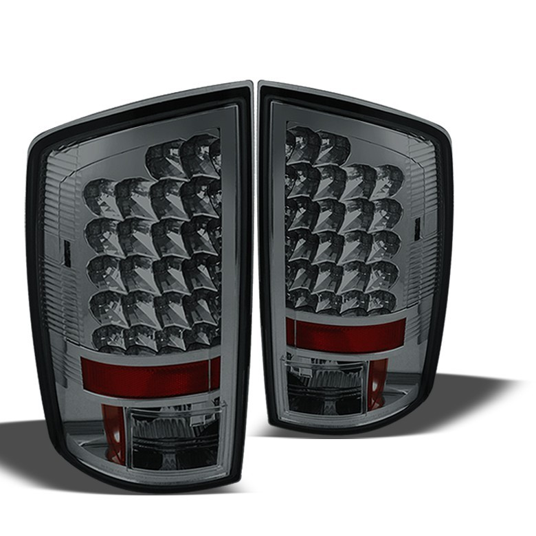 spyder 2007 2008 dodge ram 1500 tail lights. Black Bedroom Furniture Sets. Home Design Ideas